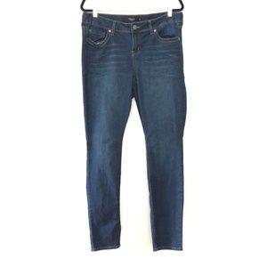 Torrid 14R Skinny Straight Dark Wash Jeans